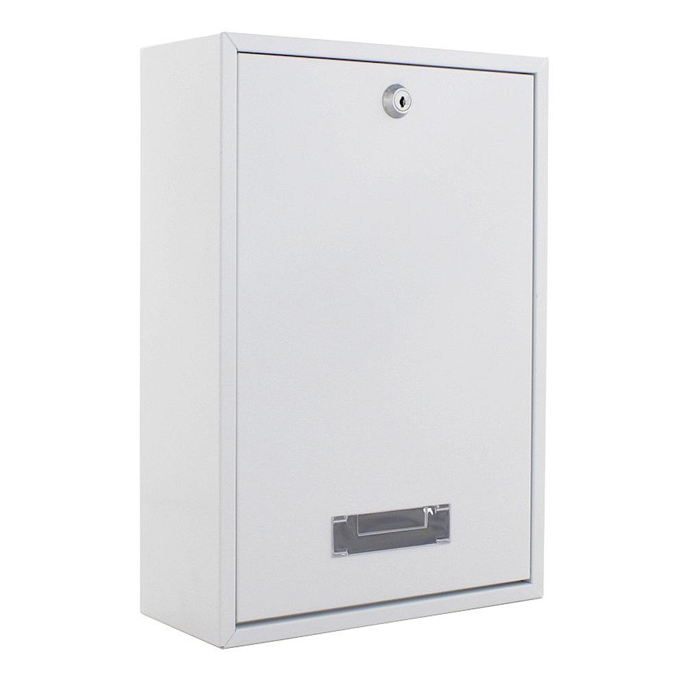 Poštová schránka - INDOOR biela pozinkovaná